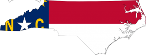 Map-flag of NC